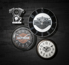 Harley-Davidson® Clocks